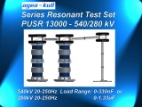 Series Resonant Test Set with DSH7W Reactors for On-Site Testing of Power Cables