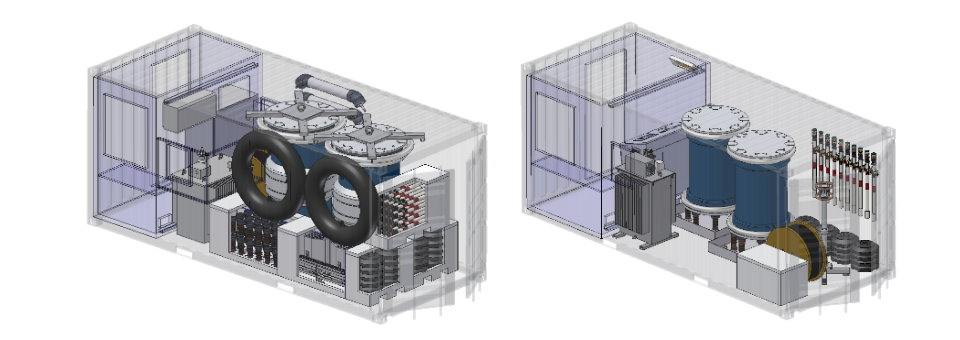 Container Solutions for High Voltage On-Site Test Systems